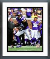 Minnesota Vikings Andrew Sendejo 2015 Action Framed Photo