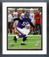Minnesota Vikings Anthony Barr 2014 Action Framed Photo