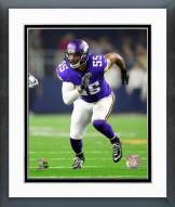 Minnesota Vikings Anthony Barr 2015 Action Framed Photo