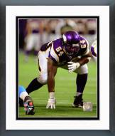 Minnesota Vikings Anthony Herrera 2008 Action Framed Photo