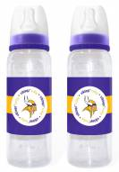 Minnesota Vikings Baby Bottles - 2 Pack
