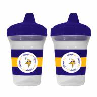 Minnesota Vikings Sippy Cup - 2 Pack