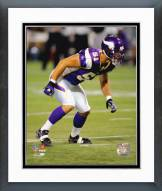 Minnesota Vikings Ben Leber 2006 Action Framed Photo
