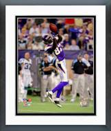 Minnesota Vikings Bernard Berrian 2008 Action Framed Photo