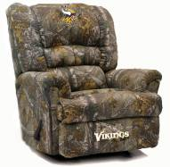 Minnesota Vikings Big Daddy Camo Recliner