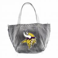 Minnesota Vikings Black NFL Vintage Tote Bag