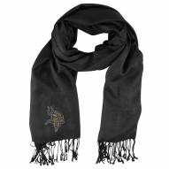 Minnesota Vikings Black Pashi Fan Scarf