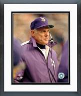 Minnesota Vikings Bud Grant Action Framed Photo