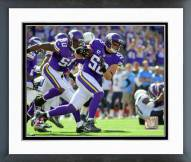 Minnesota Vikings Chad Greenway 2015 Action Framed Photo