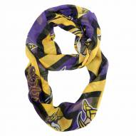 Minnesota Vikings Chevron Sheer Infinity Scarf
