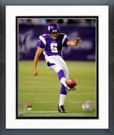 Minnesota Vikings Chris Kluwe 2006 Action Framed Photo