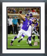Minnesota Vikings Christian Ponder 2014 Action Framed Photo