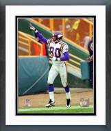Minnesota Vikings Cris Carter 1996 Action Framed Photo
