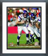 Minnesota Vikings Cullen Loeffler 2006 Action Framed Photo
