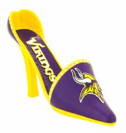Minnesota Vikings Decorative Shoe Wine Bottle Holder