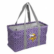 Minnesota Vikings Double Diamond Picnic Caddy