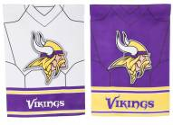Minnesota Vikings Double Sided Jersey Garden Flag