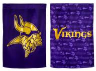 Minnesota Vikings Double Sided Glitter Garden Flag