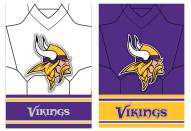 Minnesota Vikings Double Sided Jersey Flag