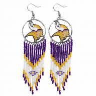Minnesota Vikings Dreamcatcher Earrings