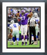 Minnesota Vikings Everson Griffen 2014 Action Framed Photo