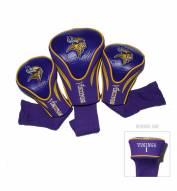 Minnesota Vikings Golf Headcovers - 3 Pack