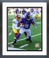 Minnesota Vikings Greg Jennings 2014 Action Framed Photo