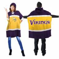Minnesota Vikings Hoodie Poncho