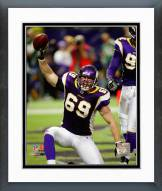 Minnesota Vikings Jared Allen 2008 Action Framed Photo