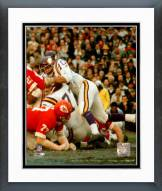 Minnesota Vikings Jim Marshall Action Framed Photo