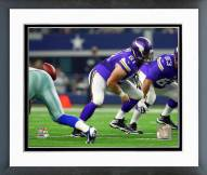 Minnesota Vikings Joe Berger 2015 Action Framed Photo