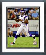 Minnesota Vikings Joe Webb 2011 Action Framed Photo