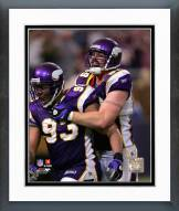 Minnesota Vikings Kevin Williams & Jared Allen 2008 Action Framed Photo