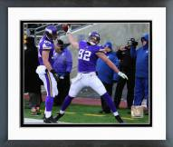 Minnesota Vikings Kyle Rudolph 2014 Action Framed Photo