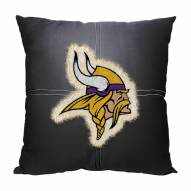 Minnesota Vikings Letterman Pillow