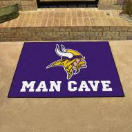 Minnesota Vikings Man Cave All-Star Rug