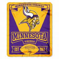 Minnesota Vikings Marque Fleece Blanket