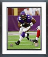 Minnesota Vikings Matt Asiata 2014 Action Framed Photo