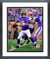 Minnesota Vikings Matt Cassel 2014 Action Framed Photo
