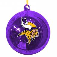 Minnesota Vikings Mercury Glass Ornament