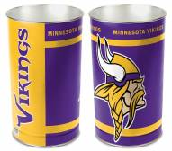 Minnesota Vikings Metal Wastebasket