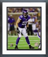 Minnesota Vikings Michael Mauti 2014 Action Framed Photo