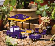 Minnesota Vikings Mini Tailgate Garden Set