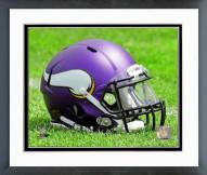 Minnesota Vikings Minnesota Vikings Helmet Framed Photo
