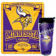 Minnesota Vikings Mug & Snug Gift Set