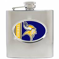 Minnesota Vikings NFL 6 Oz. Stainless Steel Hip Flask