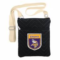 Minnesota Vikings Chevron Stitch Crossbody Bag