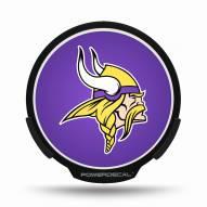 Minnesota Vikings NFL Light Up Power Decal