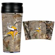 Minnesota Vikings NFL RealTree Camo Coffee Mug Tumbler