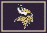 Minnesota Vikings NFL Team Spirit Area Rug
